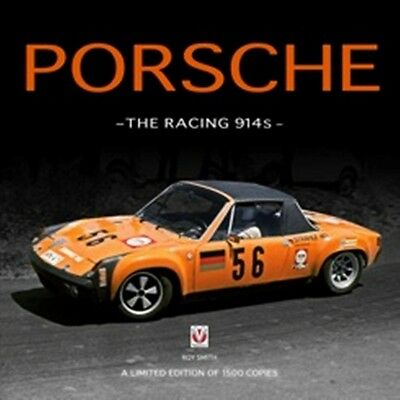 Porsche - The Racing 914s  book paper car