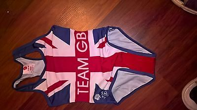 `brand New With Tags. Girls Team Gb Swimsuit``'