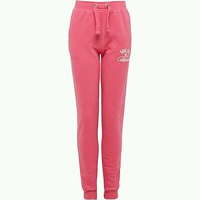SoulCal Girls Joggers/Pants Pink (Size 13-14 Year Olds) FAST DELIVERY!