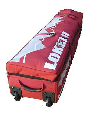 Twin Deck LOKKER Wheelie Team Snowboard Bag - 2 Boards & Boots & all your Kit