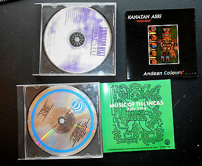 Inca traditional music two CDS lovely music of an ancient culture RARE beautiful