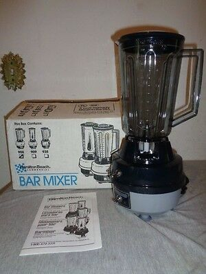 NEW Hamilton Beach Commercial Blender Made in USA