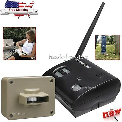 Chamberlain Outdoor Wireless Driveway Motion Alert Alarm Detector System Home