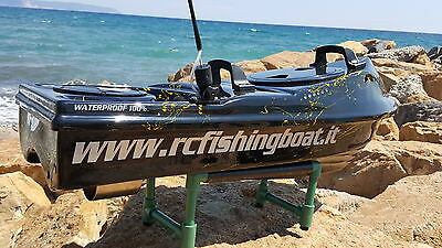 Rc Sea Boat Top Surfcasting Rc Bait Boat! 100% Waterproof