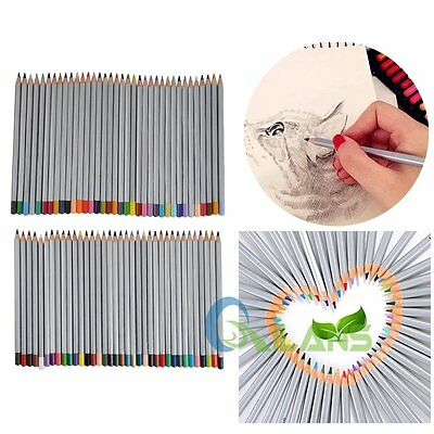 72 Colors Marco Pencils For Artist Student Sketch Drawing Colouring Writting【AU】