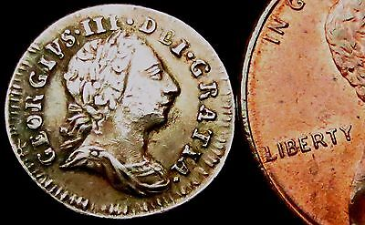 S291: 1779 George III Silver Maundy PENNY