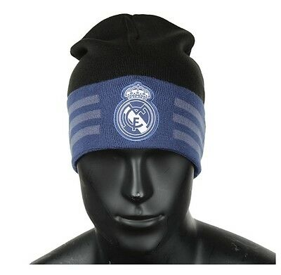 [Adidas] Real Madrid 3S Woolie Beanie Football Soccer Winter Sports Black S94880