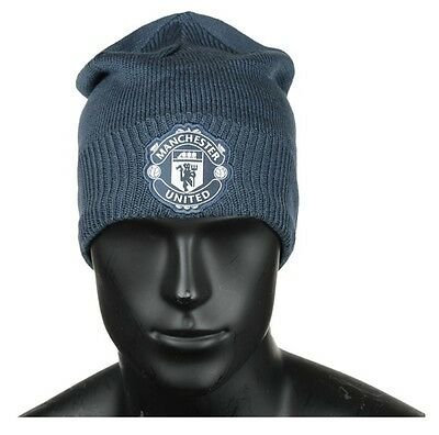 [Adidas] Manchester United Beanie Football Soccer Winter Sports Navy S95092