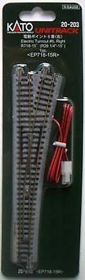 """Kato 20-203 #6 Right Turnout 718mm (28 1/4"""") EP718-15R (N scale)"""