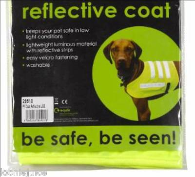 Hi Viz Vest for your Dog, Reflective Dog Vest