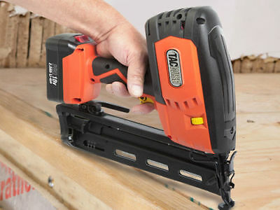 Ranger 2 18V 16G Finish Nailer With 2 x 2.0Ah Li-ion Batteries 1243 Gun