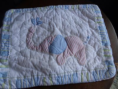 POTTERY Barn KIDS Safari JUNGLE Friends CRIB Quilted TODDLER Nursery PILLOW sham