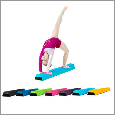 Water Resistant Fabric Foam Gymnastics Balance Beam Home Gym Outdoor Suitable