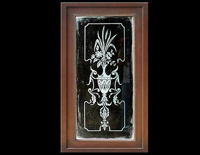 Etched Glass Panel #4651 & #4652