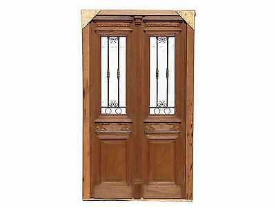 Antique Double Entry Door #A1287