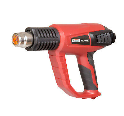 Lumberjack HG2000 Heat Gun with LCD temperature display and air flow controls