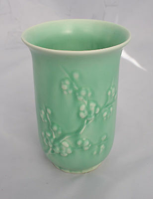 Shorter and Son - Vase - Green/turquoise