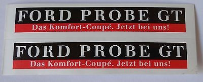 Aufkleber FORD PROBE GT 80er Sticker Autocollant Youngtimer