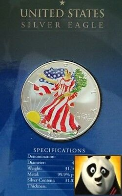 2000 UNITED STATES $1 One Dollar Millennium Silver Proof Eagle Walking Liberty