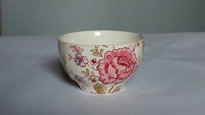 Johnson Brothers MADE IN ENGLAND Rose Chintz Rice Bowl Mini Open Sugar Bowl
