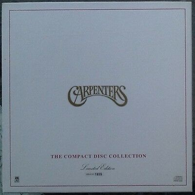 CARPENTERS Compact Disc Collection LTD EDITION RARE 1989 NUMBERED 12 x CD BOX