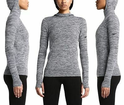 Womens Medium NIKE Pro Hyperwarm Limitless Seamless Hoodie