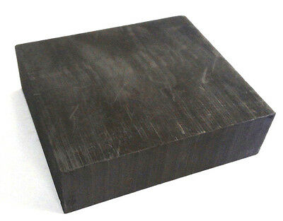 "Graphite Blank Block Sheet Plate High Density Fine Grain 3/8"" x 6"" x 6"""