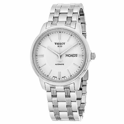 Tissot Men's Automatic White Dial Stainless Steel Swiss Watch T0654301103100