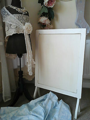 Antique Victorian c1900's~Wooden Fire Screen/Picture Frame Stand~Interior Decor!