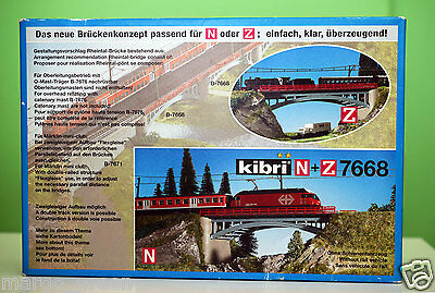 New! Kibri 7668 (Z/N gauge) Werra Brücke/ Bridge
