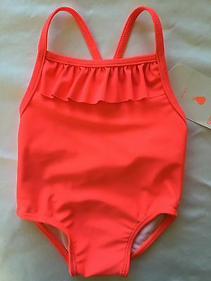 Country Road Baby Girls Swimmers Bathers Size 000 BNWT RRP $34.95 Free Postage