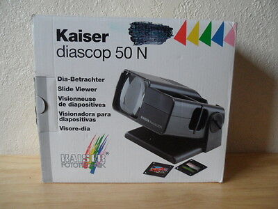 2015 Kaiser diascop 50 N slide film viewer Germany