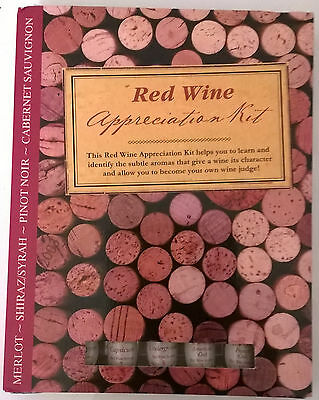 RED WINE Appreciation Kit - BRAND NEW & SEALED