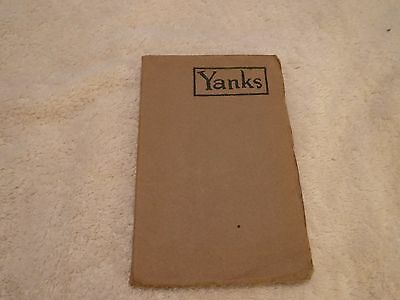 nef. Yanks Book of A.E.F. Verse Published by Stars & Stripes 1918