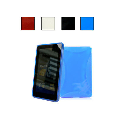TPU Super Slim Shell Case for 2011 Amazon Kindle Fire 7 (1st Gen)