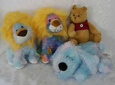 Bulk Lot of 26 NEW Plush Toys - Bear, Lion, Puppy Dog - resell market wholesale