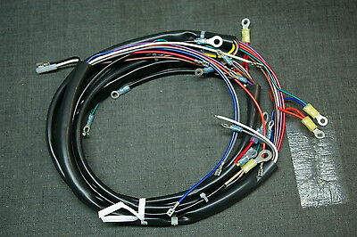 new 1973 1977 harley flh complete wiring harness • 129 99 picclick harley shovelhead main wiring harness fl flh 1973 77