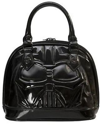 NWT Loungefly's Star Wars Darth Vader Darkside Black Patent Dome Bag