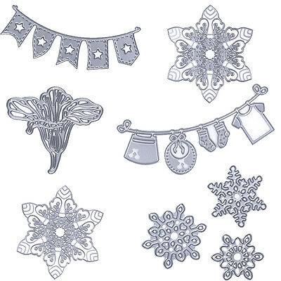 Metal Die Cutting Scrapbooking Embossing Dies Cut Stencils DIY Album Card Carfts