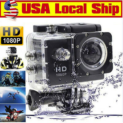 Pro Ultra Hd Waterproof Extrem Sports Camera Dv 1080P Video Action Camcorder Usa