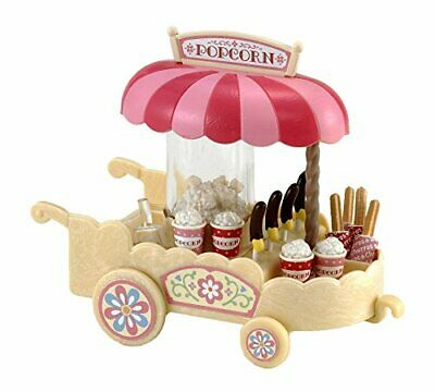 Sylvanian Families Popcorn Wagon (with Churro)MI-68