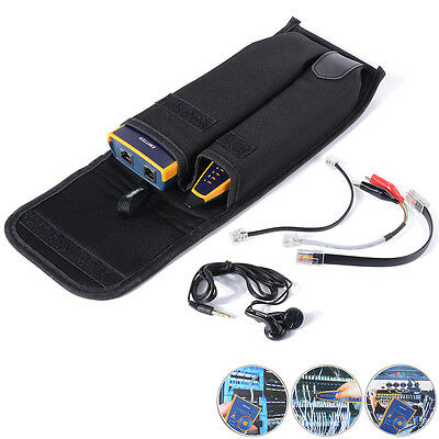 Telephone Phone RJ45 Seguidor de cables Ethernet LAN Network Cable Tester Probe