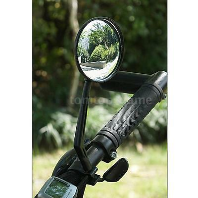 Cycling Bike Bicycle Cycle Handlebar Flexible Rear View Rearview Mirror New S5X8