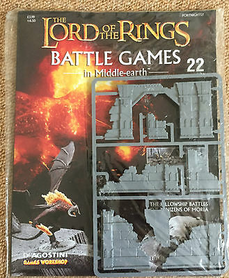 Games Workshop LOTR Lord of the Rings Battle Games #22 Ruins Scenery - Sealed