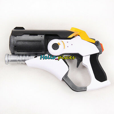 Exclusive made Anime Overwatch OW Mercy's Gun Weapon PVC Cosplay Prop 11""