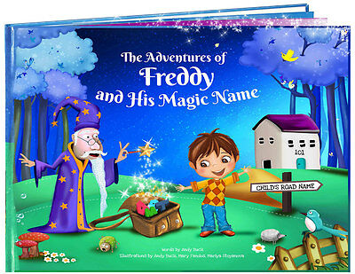 Personalised Name Book - Ideal for Christenings, Christmas, and Birthdays Gifts
