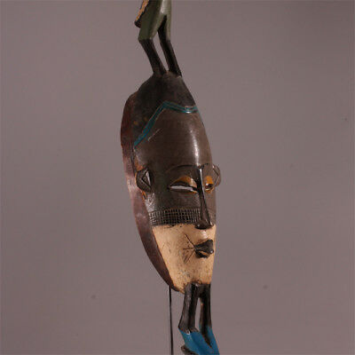 6438 Fine Gouro Mask with two bird figure