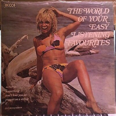 Decca The World Of Your Easy Listening Favourites Lp Vinyl Album Excellent Condi