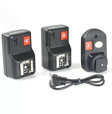 Andoer PT-04GY 4 Channels Wireless Remote Flash Trigger for Canon Nikon O2V2