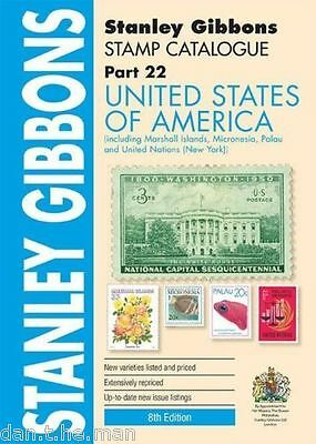 STANLEY GIBBONS - STAMP CATALOGUE USA UNITED STATES OF AMERICA - 8th Ed 2015